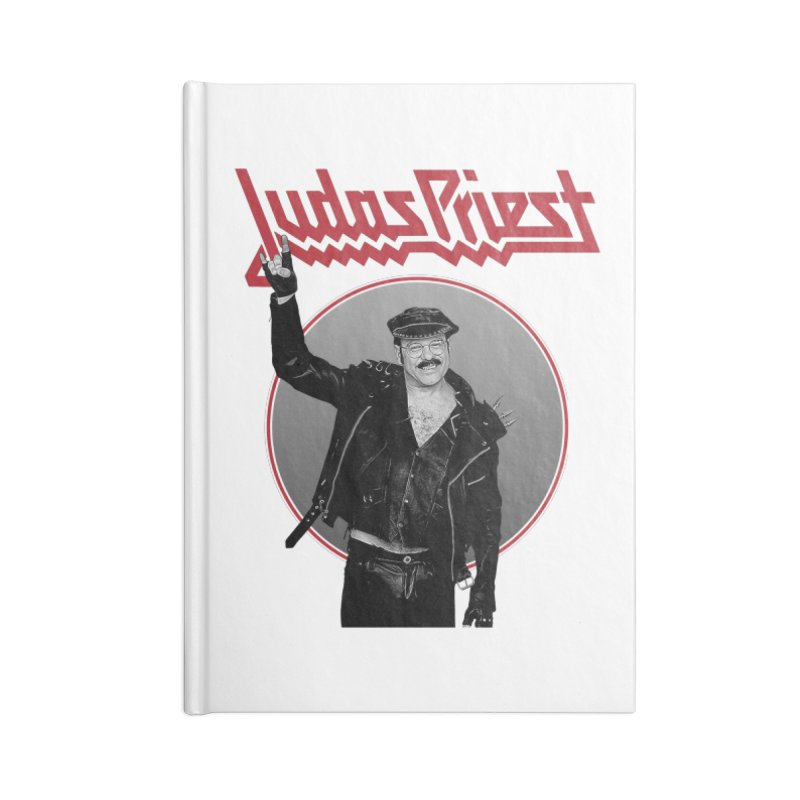 JUDAS FUNKE Accessories Lined Journal Notebook by Teenage Stepdad