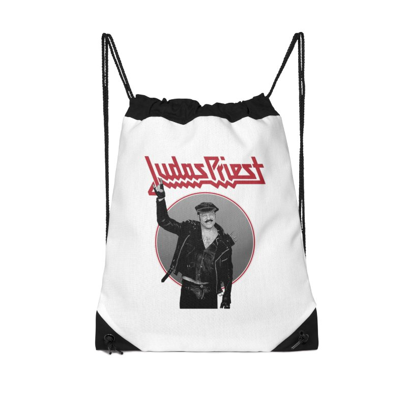 JUDAS FUNKE Accessories Drawstring Bag Bag by Teenage Stepdad