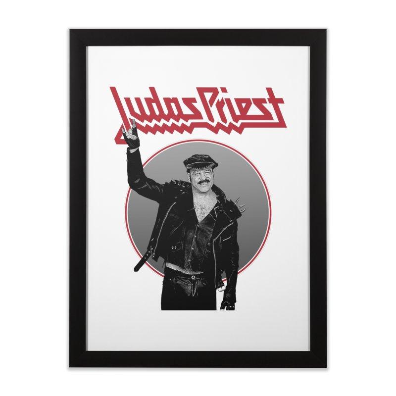 JUDAS FUNKE Home Framed Fine Art Print by Teenage Stepdad