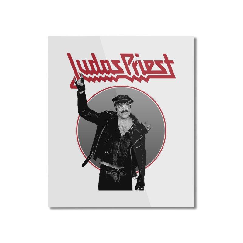 JUDAS FUNKE Home Mounted Aluminum Print by Teenage Stepdad