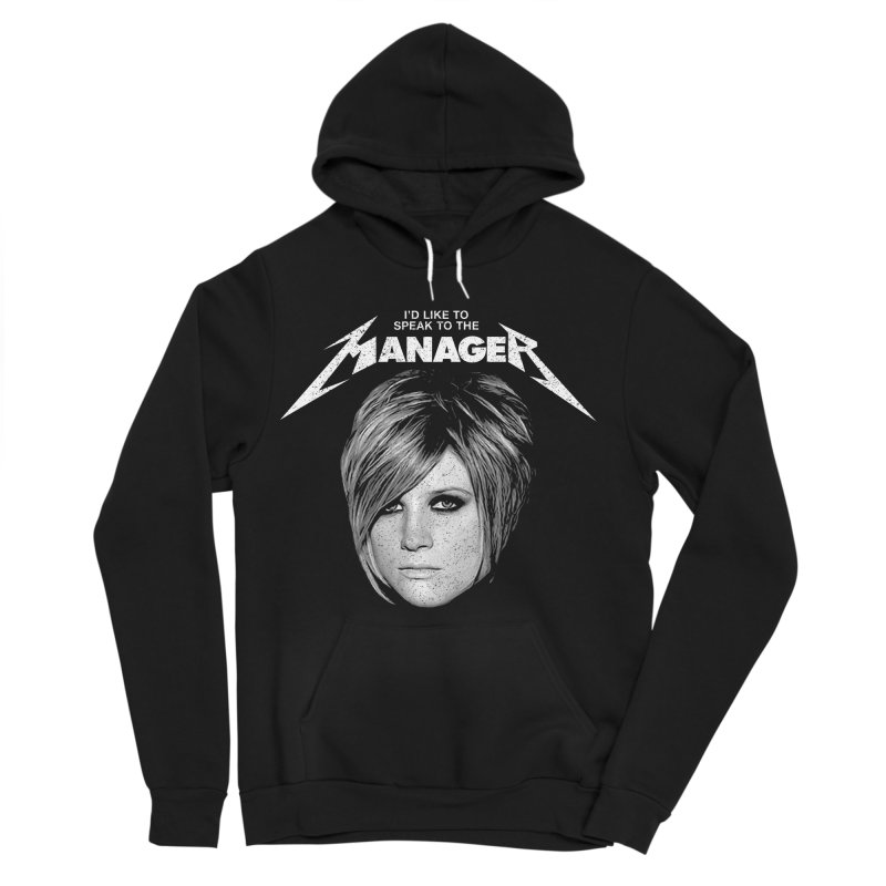 I'D LIKE TO SPEAK TO THE MANAGER Men's Sponge Fleece Pullover Hoody by Teenage Stepdad