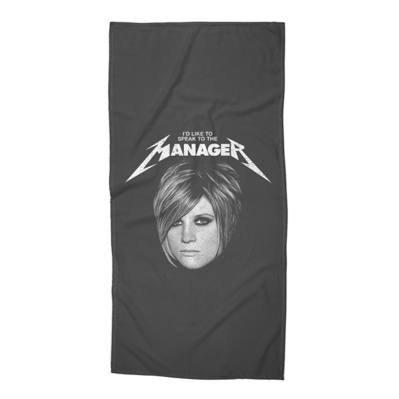 I'D LIKE TO SPEAK TO THE MANAGER Accessories Beach Towel by Teenage Stepdad