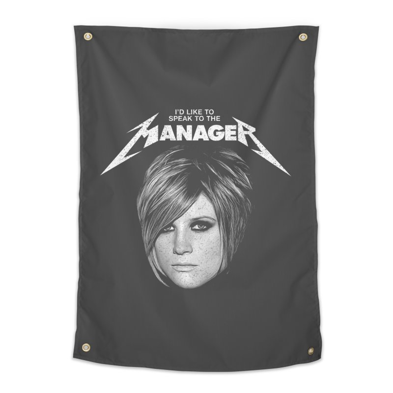 I'D LIKE TO SPEAK TO THE MANAGER Home Tapestry by Teenage Stepdad