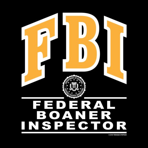 Design for FBI Federal Boaner Inspector