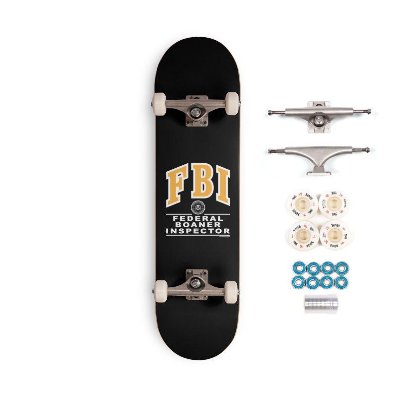 FBI Federal Boaner Inspector Accessories Complete - Premium Skateboard by Teenage Stepdad