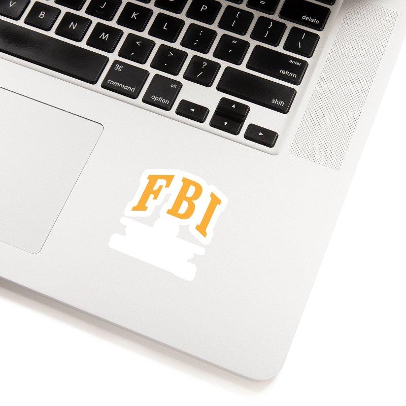 FBI Federal Boaner Inspector Accessories Sticker by Teenage Stepdad
