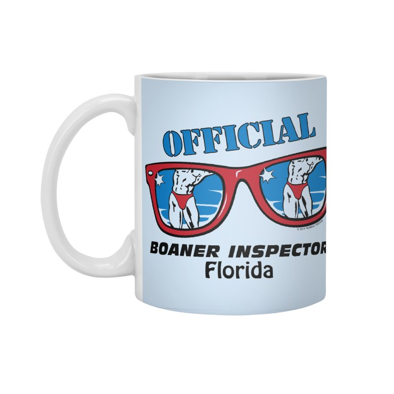OFFICIAL BOANER INSPECTOR Florida Accessories Standard Mug by Teenage Stepdad