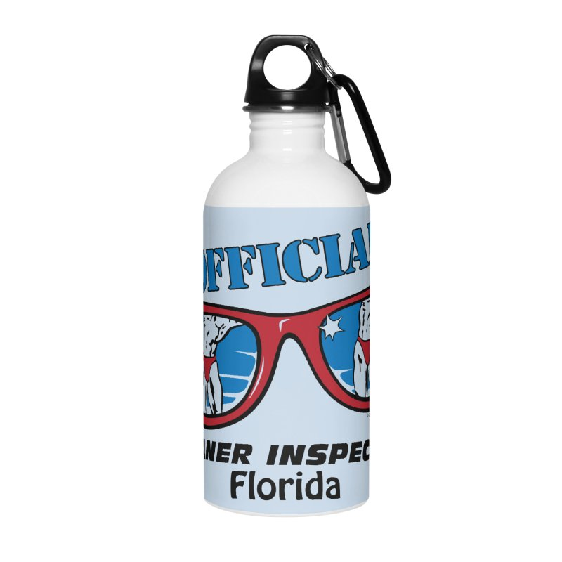 OFFICIAL BOANER INSPECTOR Florida Accessories Water Bottle by Teenage Stepdad
