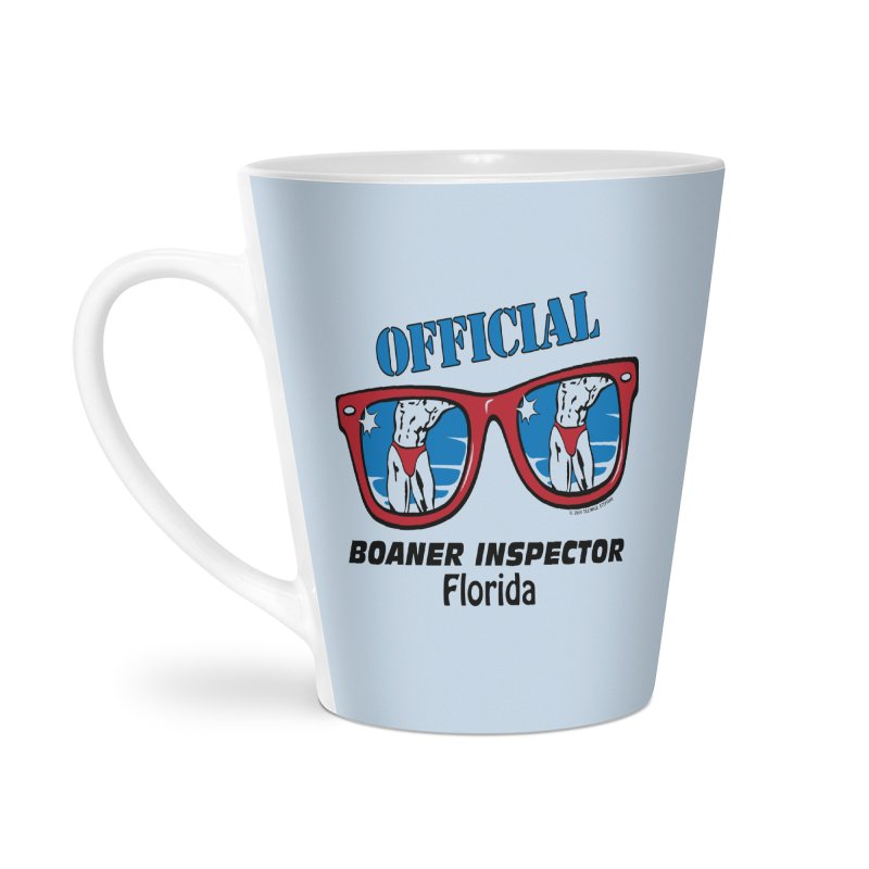 OFFICIAL BOANER INSPECTOR Florida Accessories Latte Mug by Teenage Stepdad