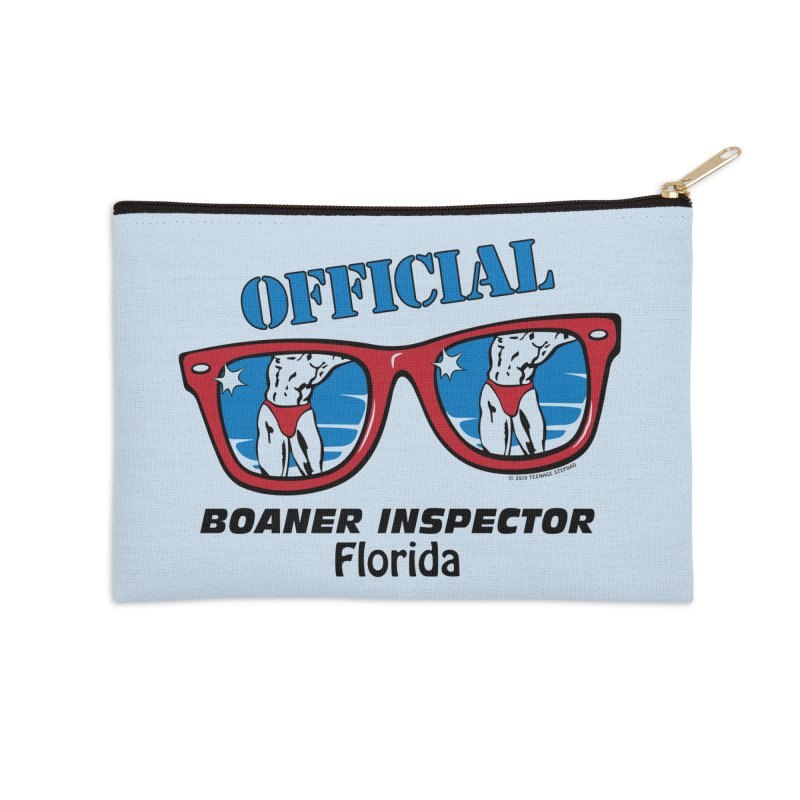 OFFICIAL BOANER INSPECTOR Florida Accessories Zip Pouch by Teenage Stepdad