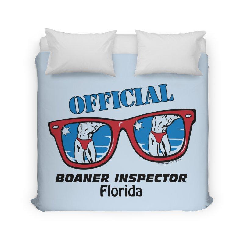 OFFICIAL BOANER INSPECTOR Florida Home Duvet by Teenage Stepdad