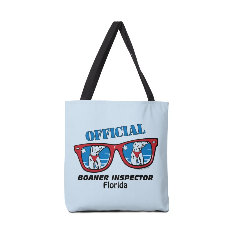 OFFICIAL BOANER INSPECTOR Florida Accessories Tote Bag Bag by Teenage Stepdad