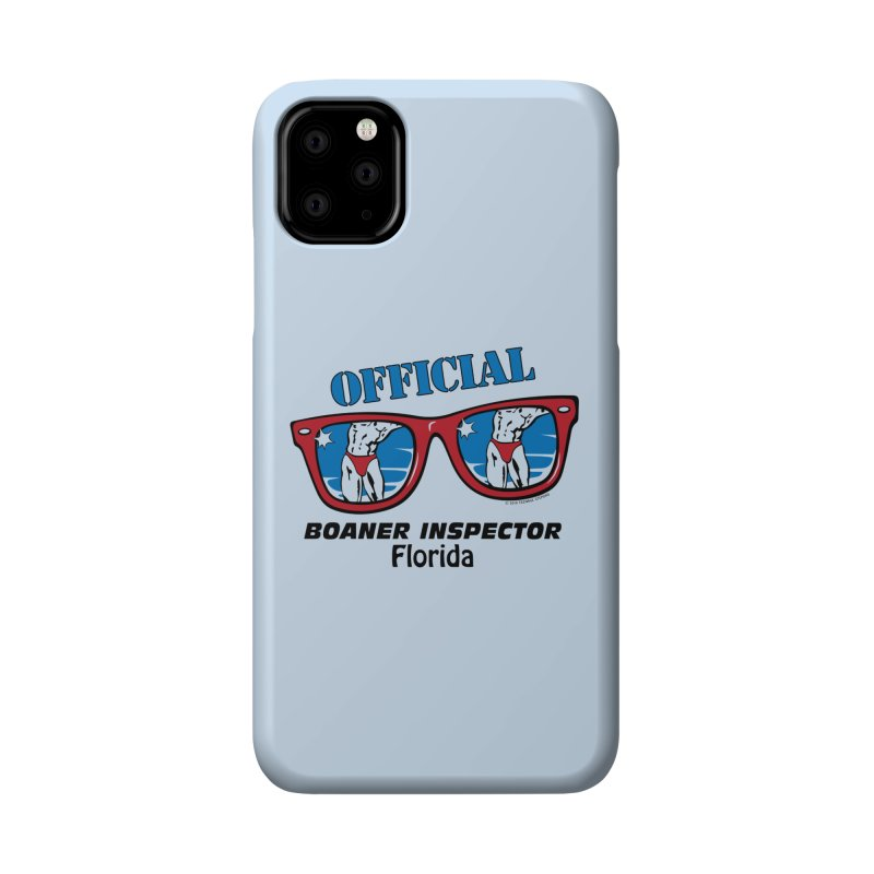 OFFICIAL BOANER INSPECTOR Florida Accessories Phone Case by Teenage Stepdad