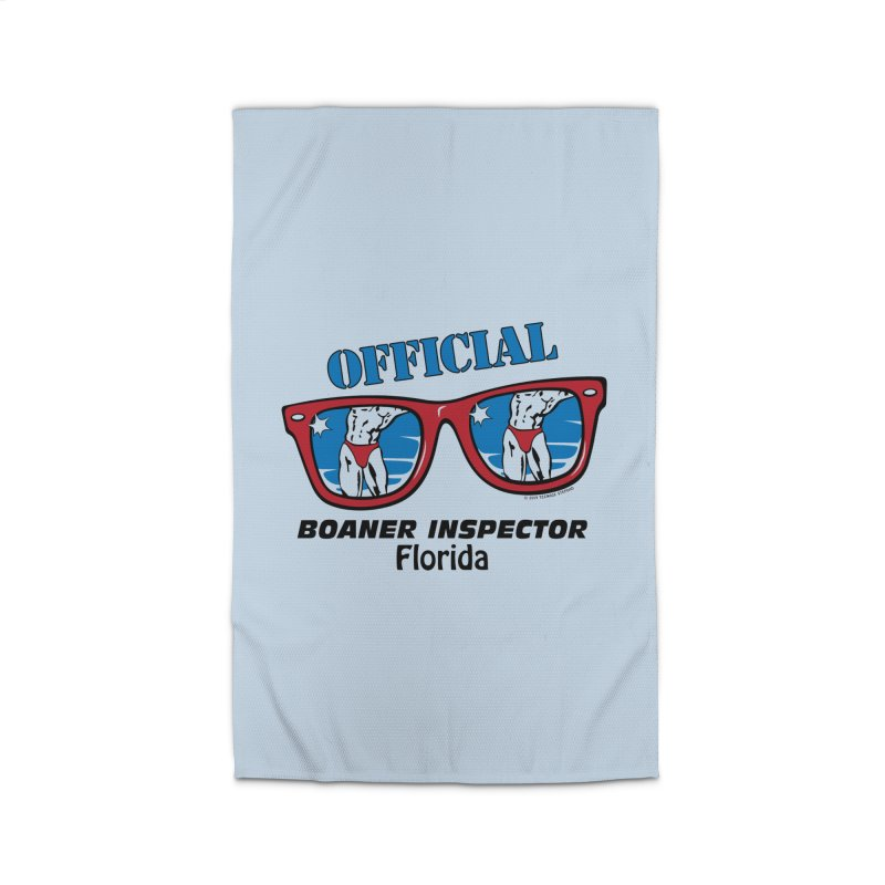 OFFICIAL BOANER INSPECTOR Florida Home Rug by Teenage Stepdad