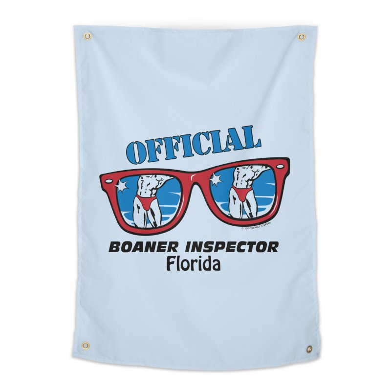 OFFICIAL BOANER INSPECTOR Florida Home Tapestry by Teenage Stepdad