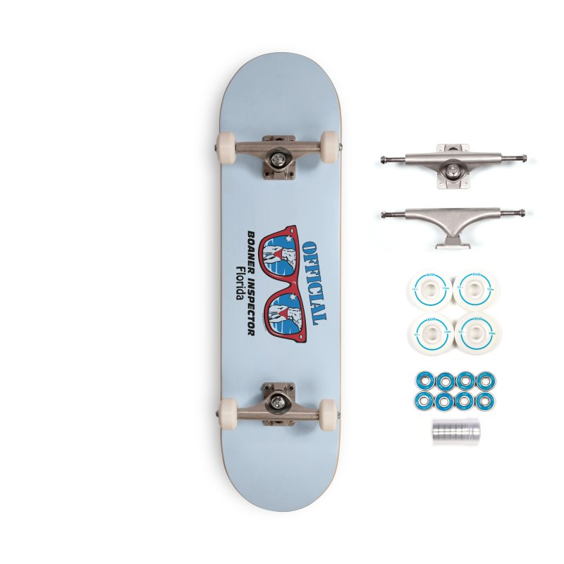 OFFICIAL BOANER INSPECTOR Florida Accessories Complete - Basic Skateboard by Teenage Stepdad