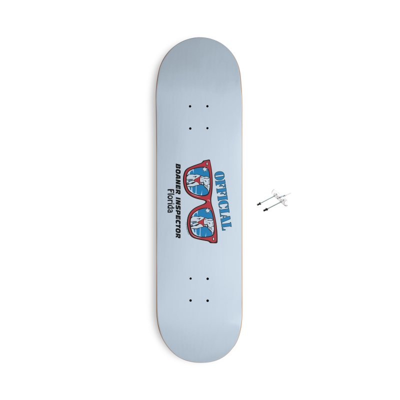 OFFICIAL BOANER INSPECTOR Florida Accessories With Hanging Hardware Skateboard by Teenage Stepdad