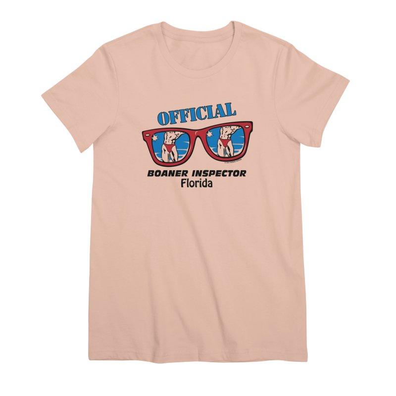 OFFICIAL BOANER INSPECTOR Florida Women's Premium T-Shirt by Teenage Stepdad