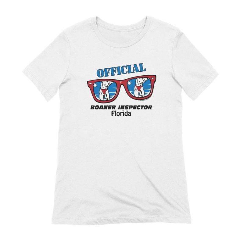 OFFICIAL BOANER INSPECTOR Florida Women's T-Shirt by Teenage Stepdad