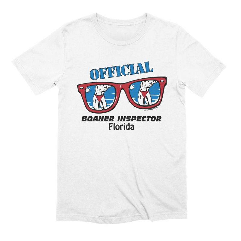 OFFICIAL BOANER INSPECTOR Florida Men's Extra Soft T-Shirt by Teenage Stepdad