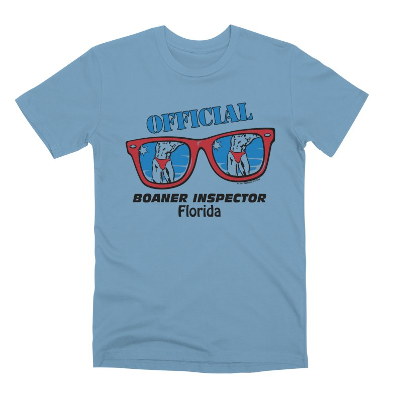 OFFICIAL BOANER INSPECTOR Florida Men's Premium T-Shirt by Teenage Stepdad