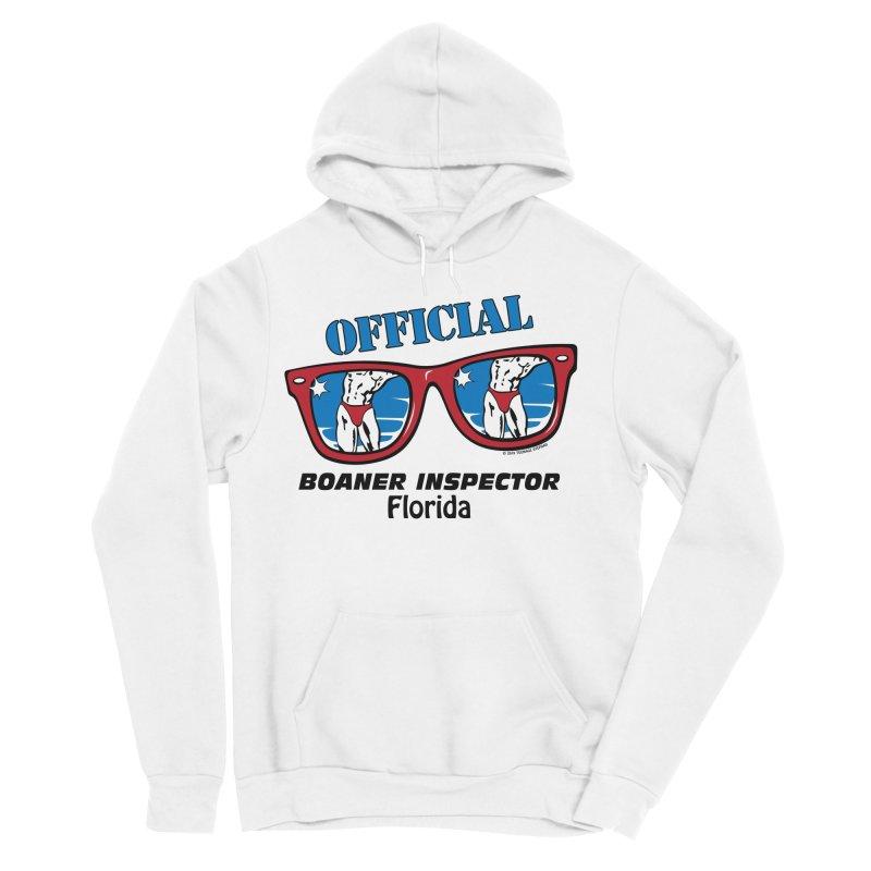 OFFICIAL BOANER INSPECTOR Florida Women's Sponge Fleece Pullover Hoody by Teenage Stepdad