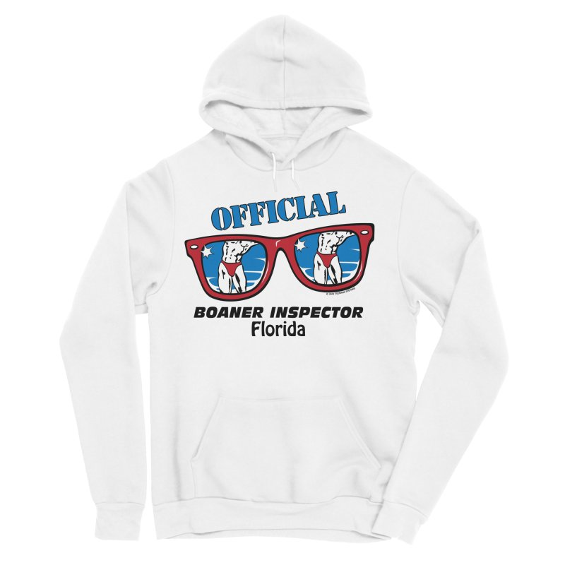 OFFICIAL BOANER INSPECTOR Florida Men's Sponge Fleece Pullover Hoody by Teenage Stepdad
