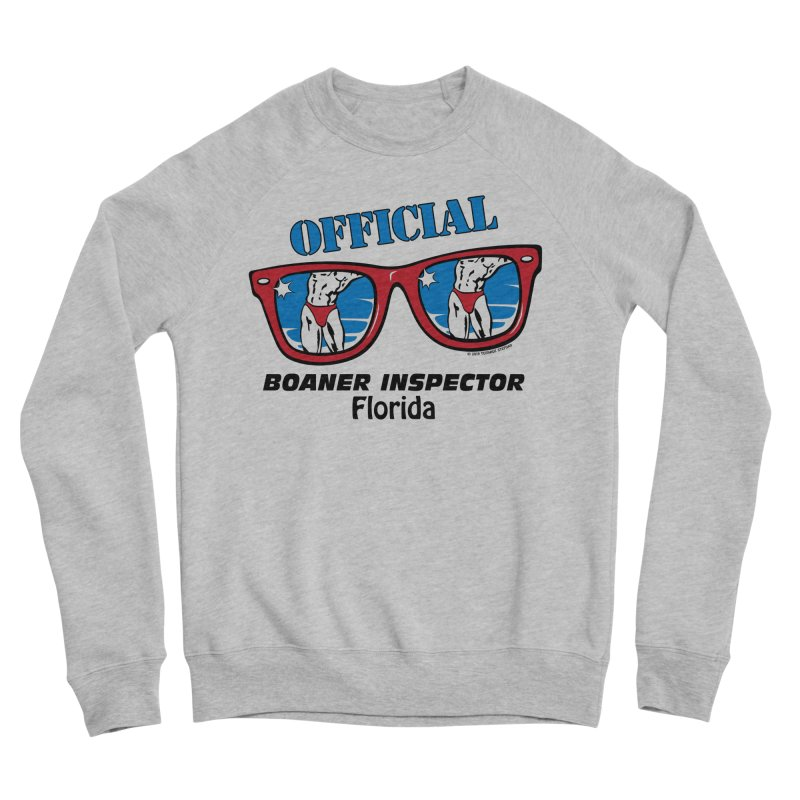 OFFICIAL BOANER INSPECTOR Florida Women's Sponge Fleece Sweatshirt by Teenage Stepdad