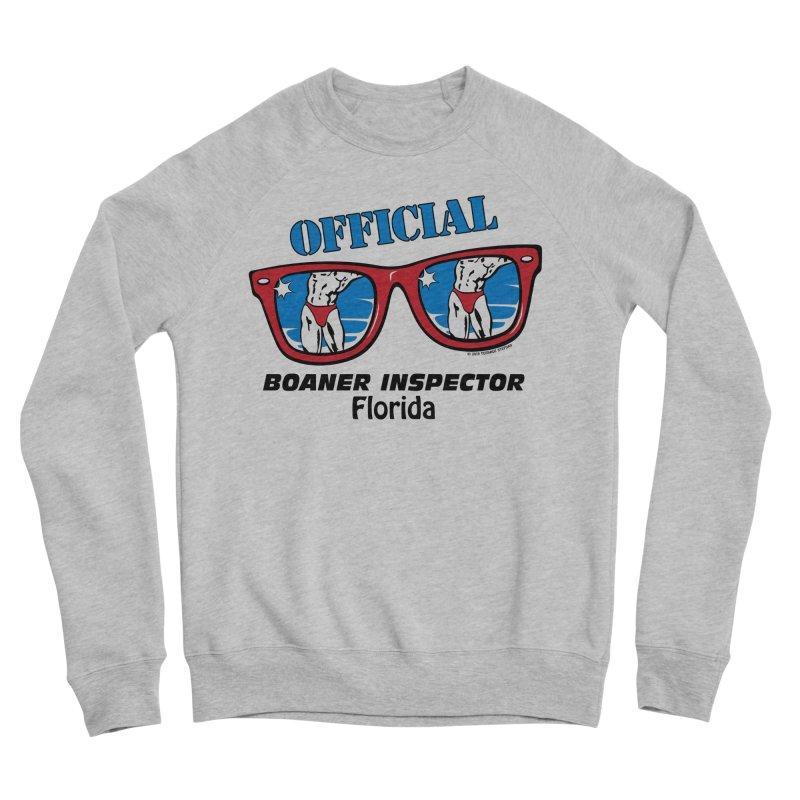 OFFICIAL BOANER INSPECTOR Florida Men's Sponge Fleece Sweatshirt by Teenage Stepdad