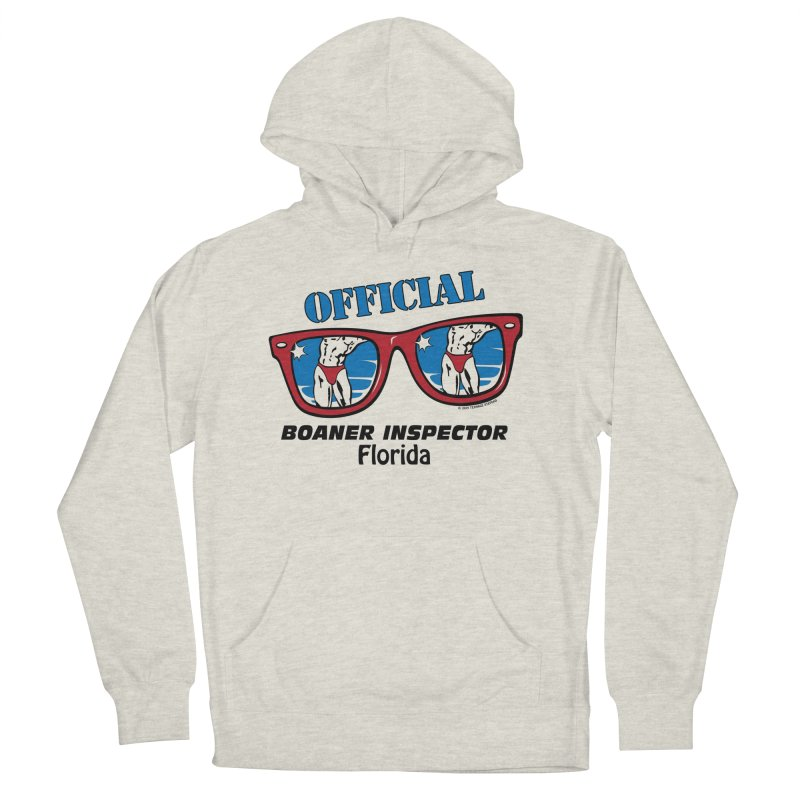 OFFICIAL BOANER INSPECTOR Florida Women's French Terry Pullover Hoody by Teenage Stepdad