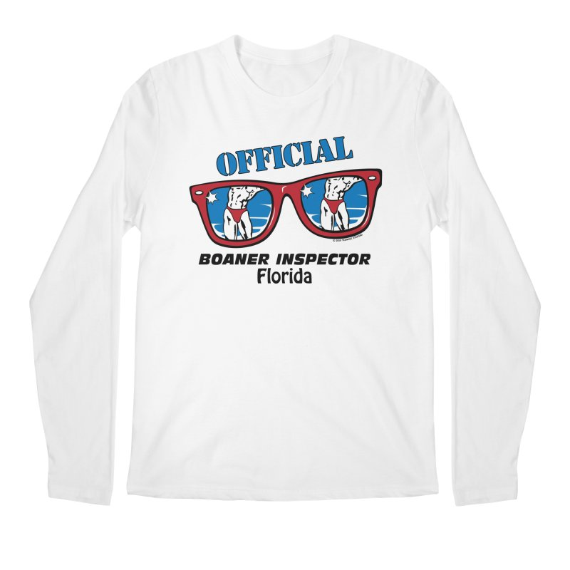 OFFICIAL BOANER INSPECTOR Florida Men's Regular Longsleeve T-Shirt by Teenage Stepdad