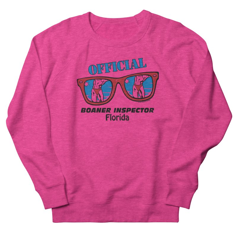 OFFICIAL BOANER INSPECTOR Florida Women's French Terry Sweatshirt by Teenage Stepdad