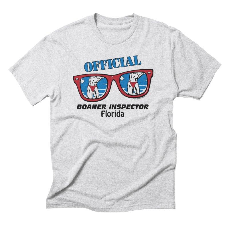 OFFICIAL BOANER INSPECTOR Florida Men's Triblend T-Shirt by Teenage Stepdad