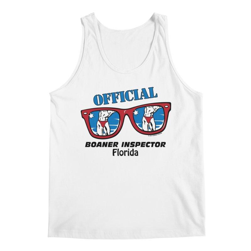 OFFICIAL BOANER INSPECTOR Florida Men's Regular Tank by Teenage Stepdad