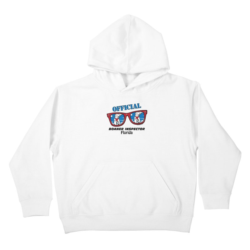 OFFICIAL BOANER INSPECTOR Florida Kids Pullover Hoody by Teenage Stepdad