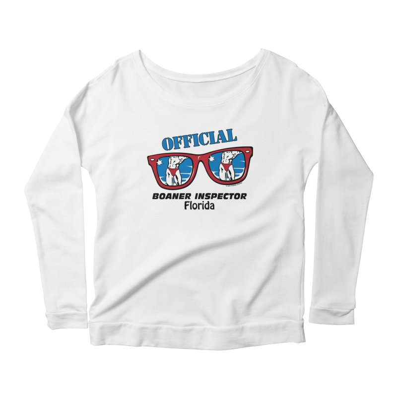 OFFICIAL BOANER INSPECTOR Florida Women's Scoop Neck Longsleeve T-Shirt by Teenage Stepdad
