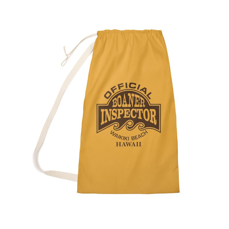 OFFICIAL BOANER INSPECTOR WAIKIKI Waves Accessories Laundry Bag Bag by Teenage Stepdad