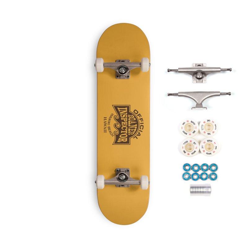 OFFICIAL BOANER INSPECTOR WAIKIKI Waves Accessories Complete - Premium Skateboard by Teenage Stepdad