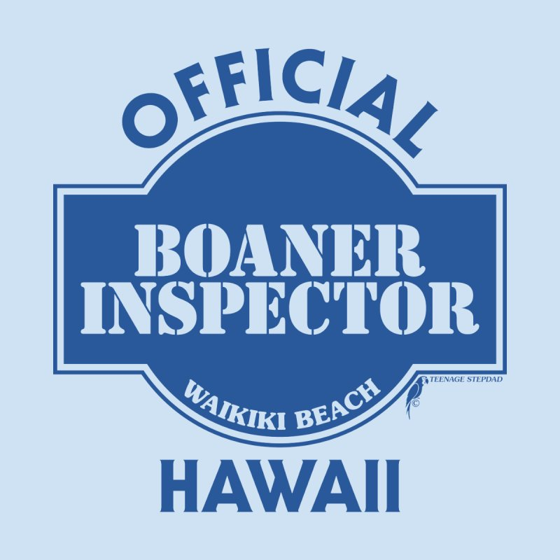 OFFICIAL BOANER INSPECTOR WAIKIKI classic Home Stretched Canvas by Teenage Stepdad
