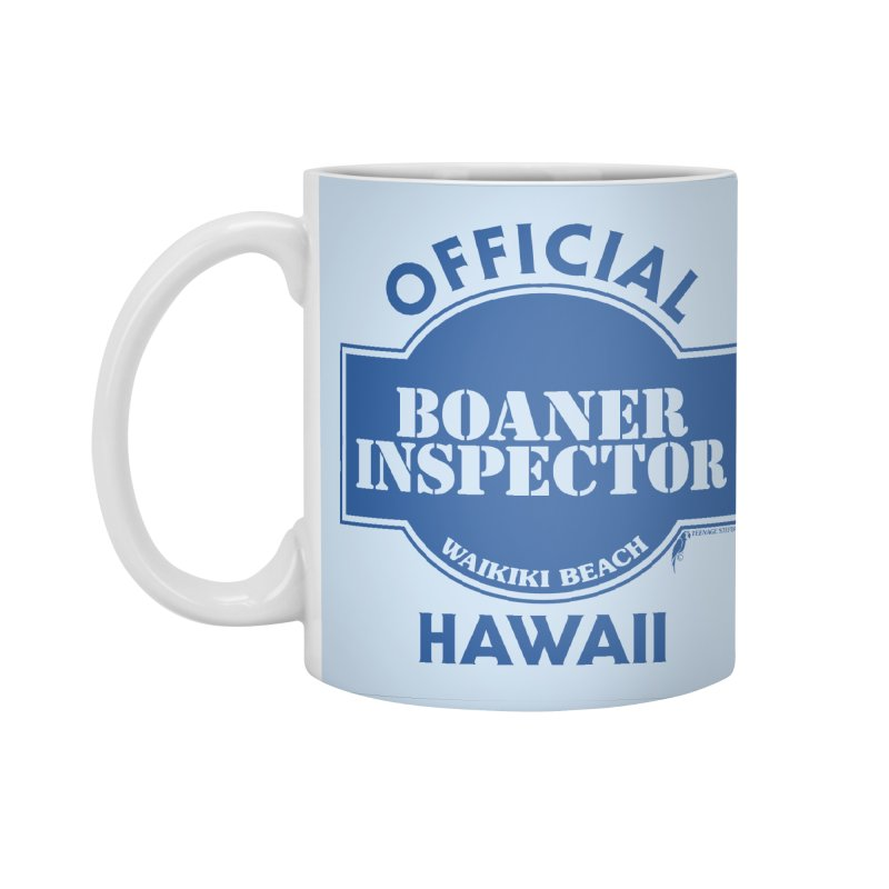 OFFICIAL BOANER INSPECTOR WAIKIKI classic Accessories Standard Mug by Teenage Stepdad