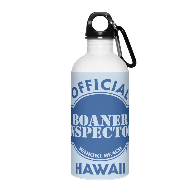 OFFICIAL BOANER INSPECTOR WAIKIKI classic Accessories Water Bottle by Teenage Stepdad