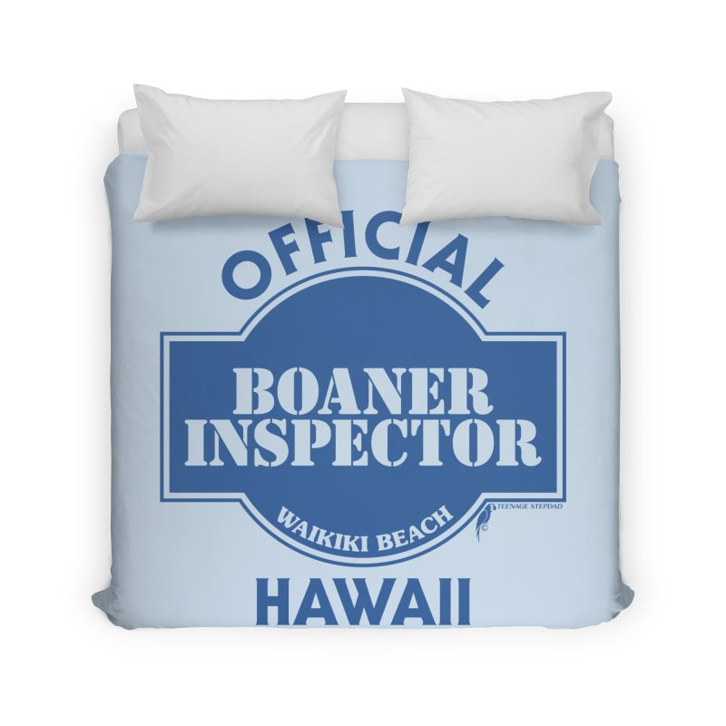 OFFICIAL BOANER INSPECTOR WAIKIKI classic Home Duvet by Teenage Stepdad