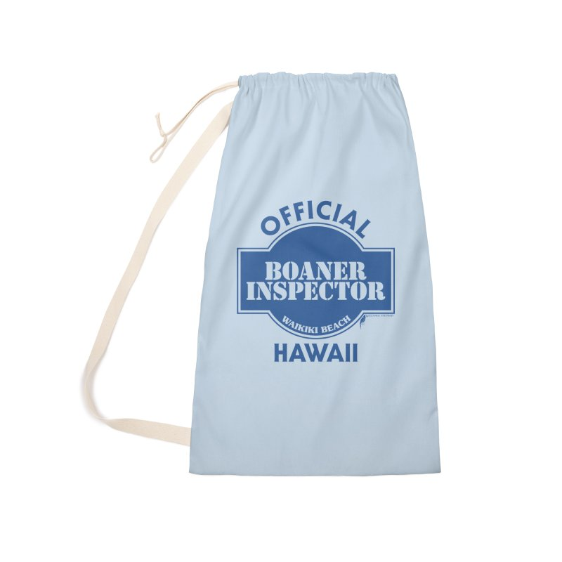 OFFICIAL BOANER INSPECTOR WAIKIKI classic Accessories Laundry Bag Bag by Teenage Stepdad