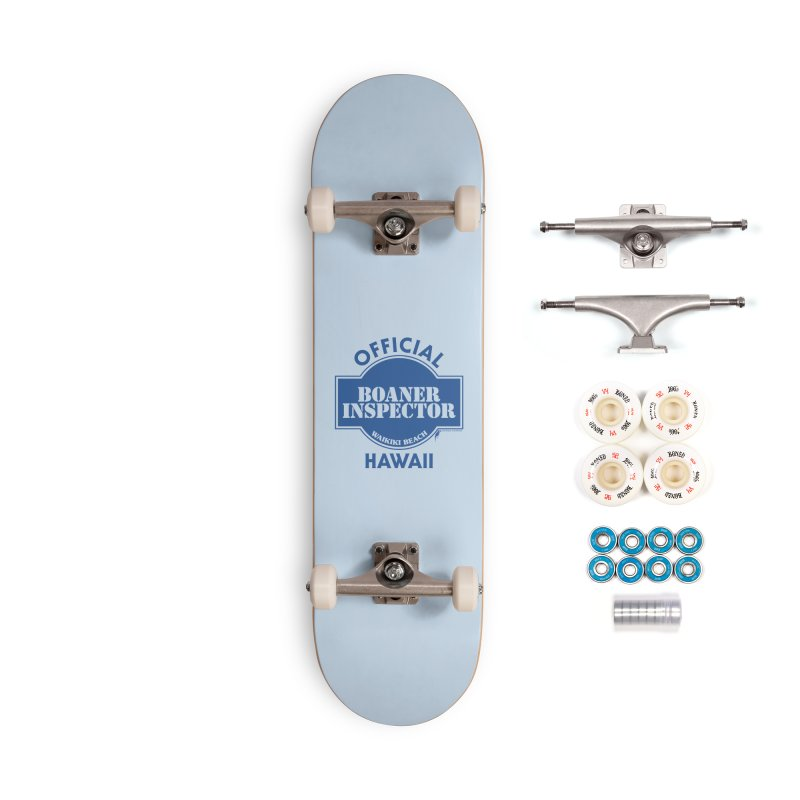 OFFICIAL BOANER INSPECTOR WAIKIKI classic Accessories Complete - Premium Skateboard by Teenage Stepdad