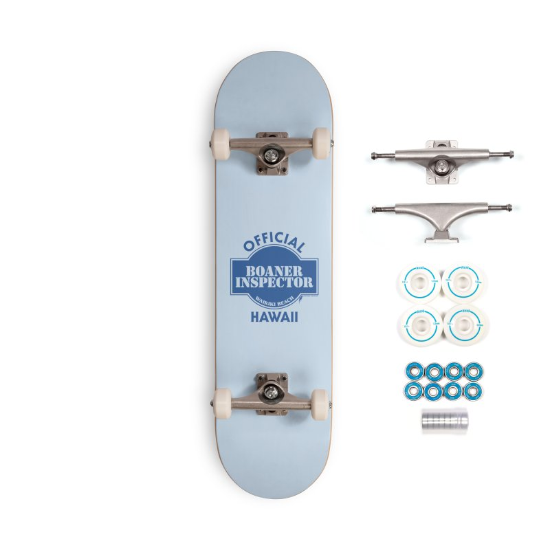 OFFICIAL BOANER INSPECTOR WAIKIKI classic Accessories Complete - Basic Skateboard by Teenage Stepdad