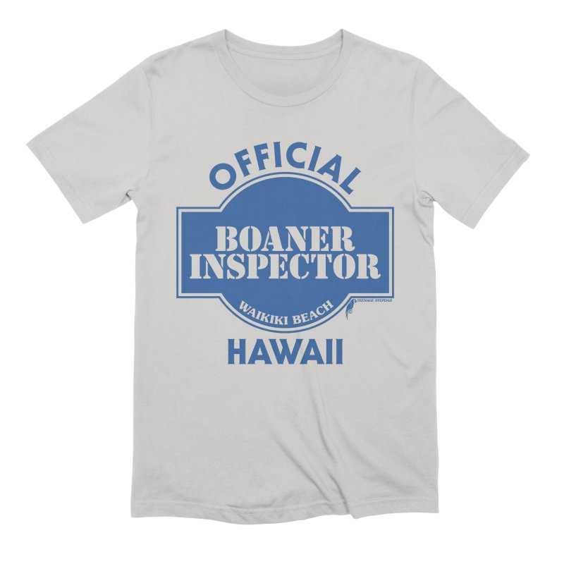 OFFICIAL BOANER INSPECTOR WAIKIKI classic Men's Extra Soft T-Shirt by Teenage Stepdad