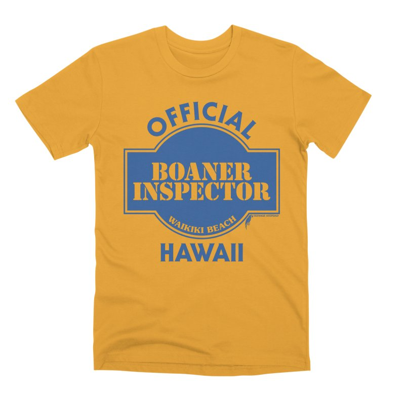 OFFICIAL BOANER INSPECTOR WAIKIKI classic Men's Premium T-Shirt by Teenage Stepdad