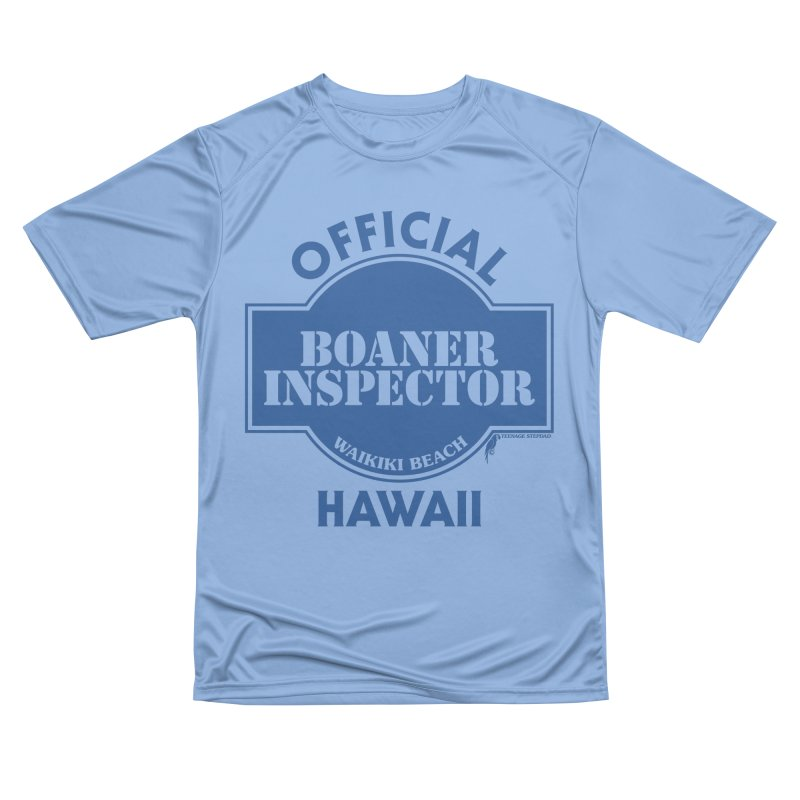 OFFICIAL BOANER INSPECTOR WAIKIKI classic Men's Performance T-Shirt by Teenage Stepdad