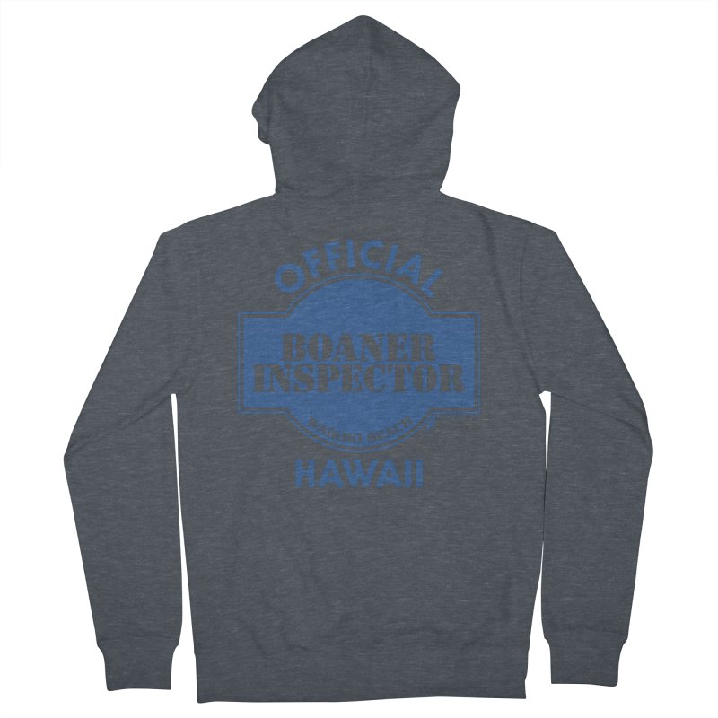 OFFICIAL BOANER INSPECTOR WAIKIKI classic Men's French Terry Zip-Up Hoody by Teenage Stepdad