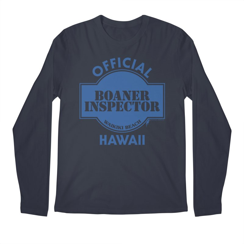 OFFICIAL BOANER INSPECTOR WAIKIKI classic Men's Regular Longsleeve T-Shirt by Teenage Stepdad